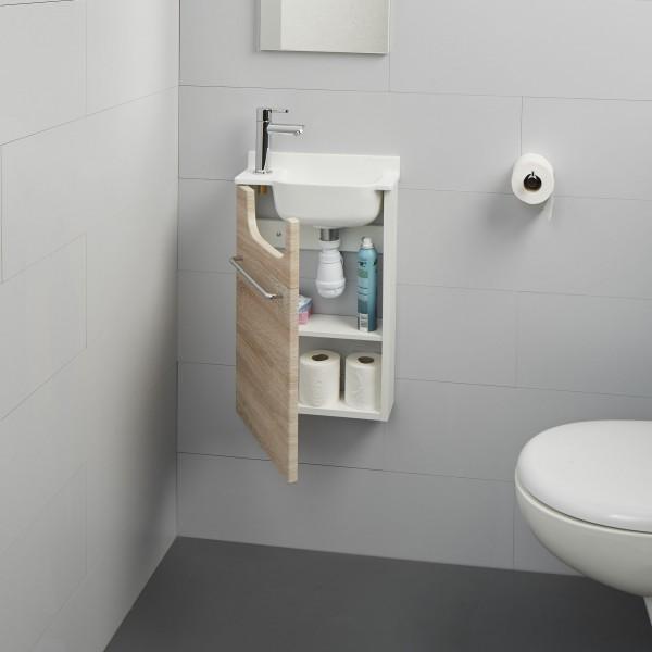 meuble wc bambou